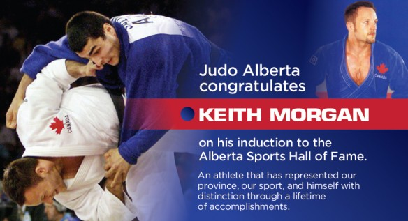 Keith Morgan Inducted Into Alberta Sport Hall of Fame