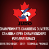 2017 Canadian Open Judo Championships – Technical Package