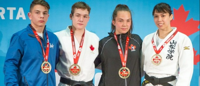 FIRST MEDAL FOR KELLY DEGUCHI ON CANADIAN SOIL