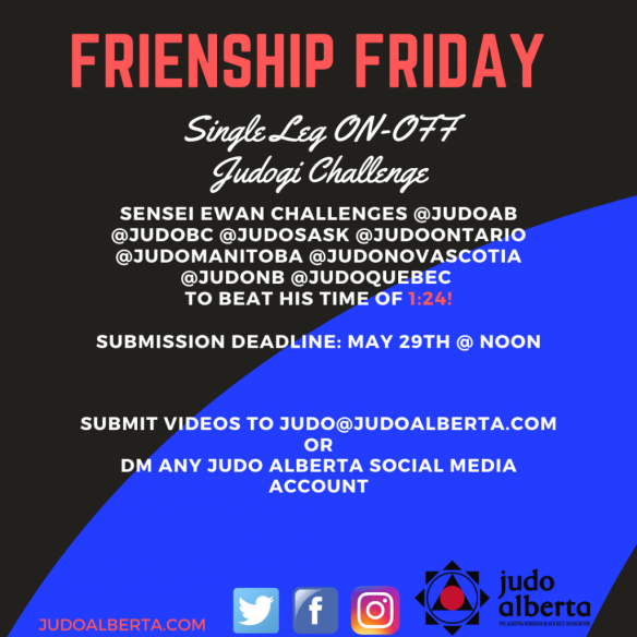 Friendship Friday Single Leg Judogi On-Off Challenge