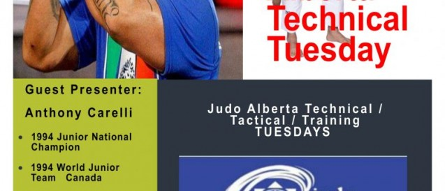 Technical Tuesday Featuring Anthony Carelli