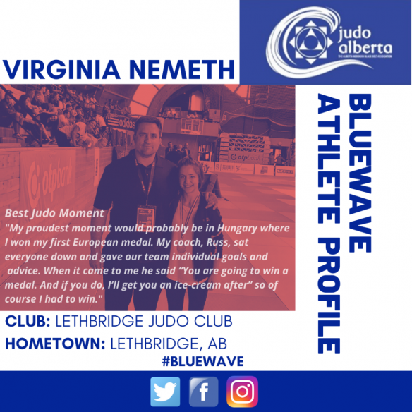 Bluewave Wednesday Athlete Profile: Virginia Nemeth