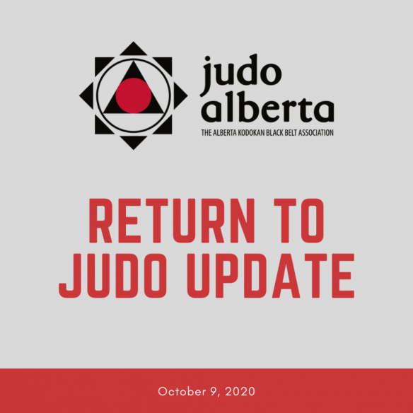 Return to Judo Guidelines (Updated October 9, 2020)