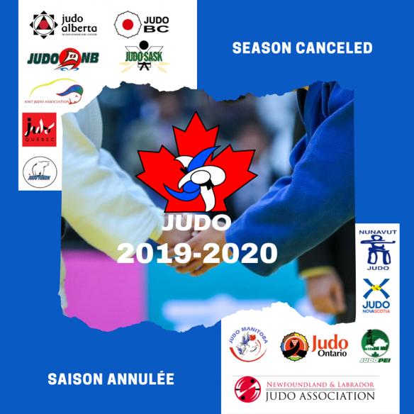 Judo Canada: 2019-20 Season Cancelled