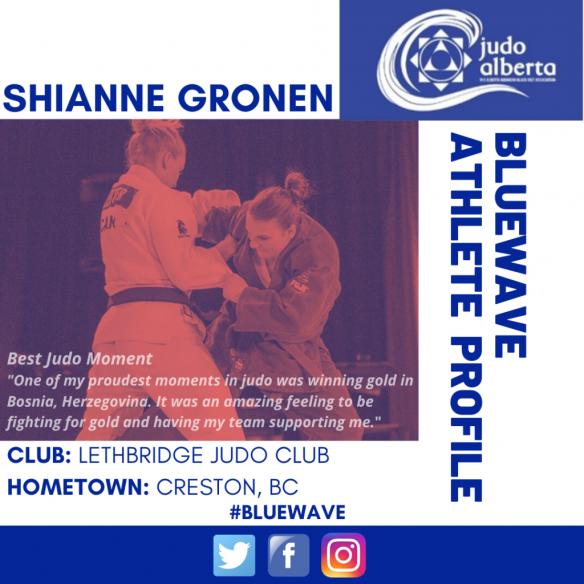 BlueWave Athlete Profile: Shianne Gronen
