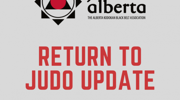 Return to Judo Guidelines (Updated October 9, 2020)