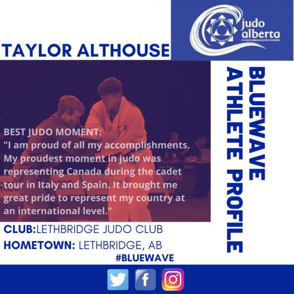 Blue Wave Athlete Profile: Taylor Althouse